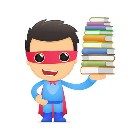 문학의: 재미있는 만화 슈퍼 히어로