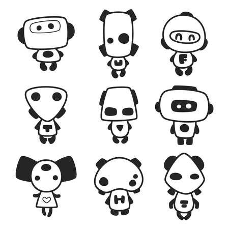 anthropomorphic: funny monsters