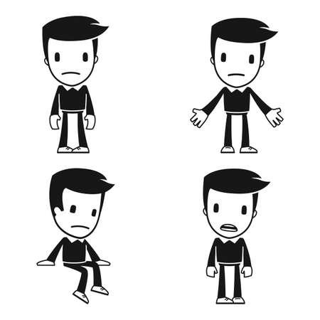 appear: funny cartoon helper man
