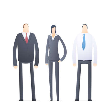 casual business team: team of young business people