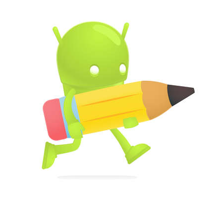 graphite: funny cartoon android