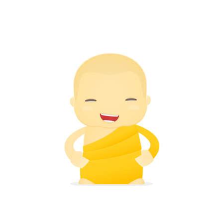 cartoon monk Stock Vector - 17654614