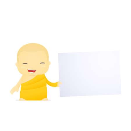 cartoon monk Stock Vector - 17654999