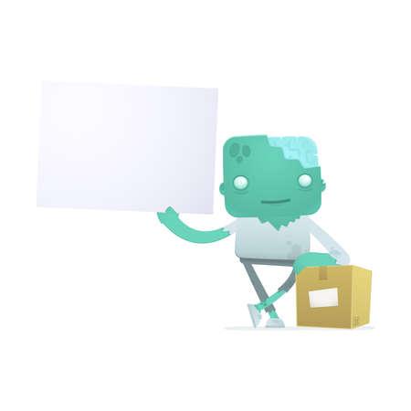 depository: funny cartoon zombie