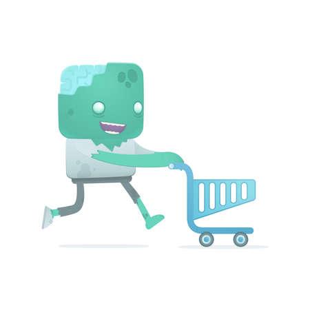 reanimated: funny cartoon zombie