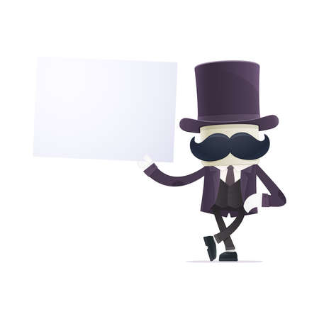 hocus: funny cartoon illusionist