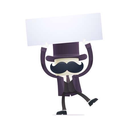 monopolio: ilusionista divertido de la historieta