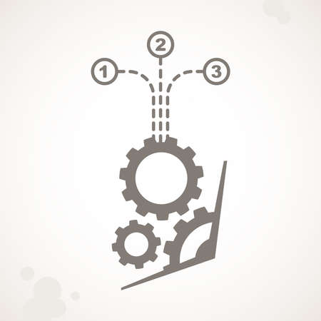 electronic scheme: components