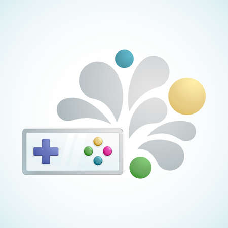 playing video games: gamepad