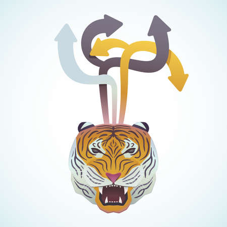 Design and Tiger Stock Vector - 18759271