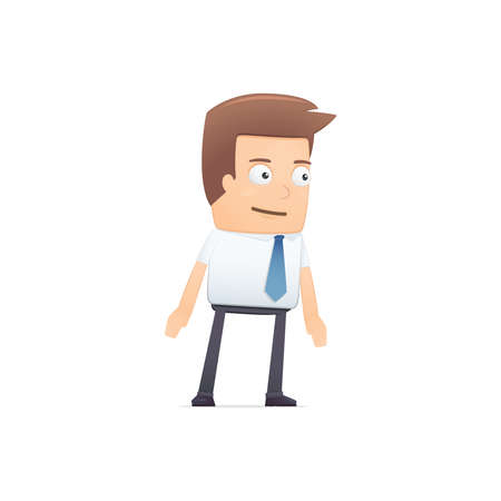 manager, suitable for use in dialogs with other characters. Stock Vector - 21846391