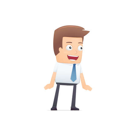 manager, suitable for use in dialogs with other characters. Stock Vector - 21832241