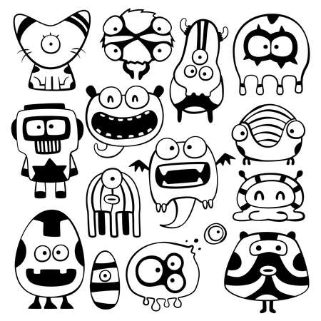 cartoon monstters Stock Vector - 21846177