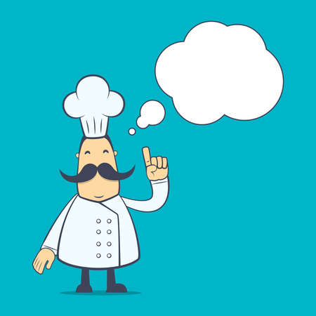 discernment: chef in various poses for use in advertising, presentations, brochures, blogs, documents and forms, etc.