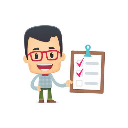 todo: dans diverses poses pour une utilisation dans la publicit�, des pr�sentations, des brochures, blogs, documents et formulaires, etc Illustration