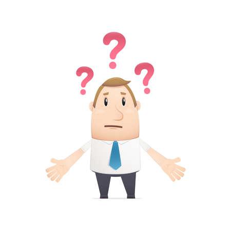 manager in verschillende poses voor gebruik in reclame, presentaties, brochures, blogs, documenten en formulieren, etc.
