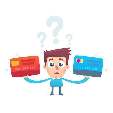 plastic card: The problem of choosing a credit card