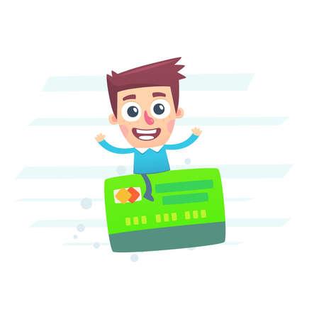 È facile viaggiare con una carta di plastica con un sistema a capitalizzazione