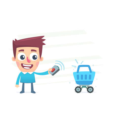 financial controller: Automated purchase Illustration