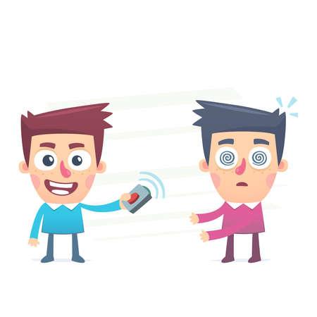 hypnotized: Mind Control Illustration