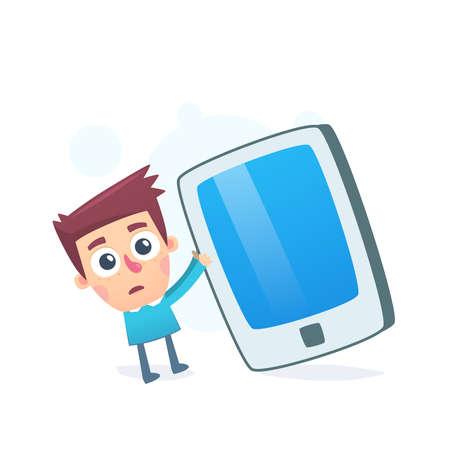 oversized: Oversized smartphone