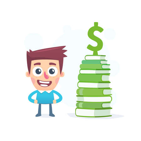 about: Knowledge about money