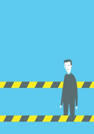 Working aisle Illustration