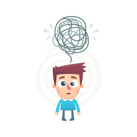 dudas: todos mezclados en la mente de una persona