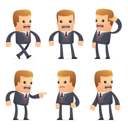 advisor: set of advisor character in different interactive  poses