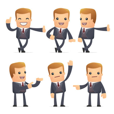financial advisors: set of advisor character in different interactive  poses