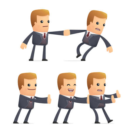 financial adviser: set of advisor character in different interactive  poses