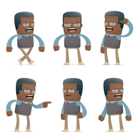 sponsorship: set of teacher character in different interactive  poses