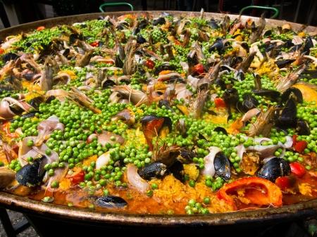 Food. Paella. Spanish food.