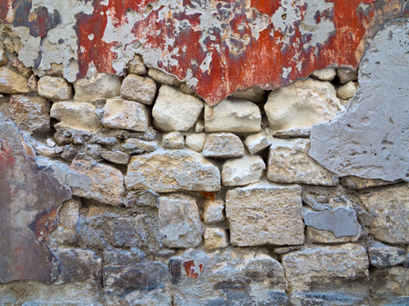 Old stone wall. Abstract background.  photo