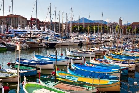Port of Nice. Seascape.
