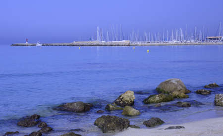 Morning view towards the marina in Can Pastilla, Majorca  photo