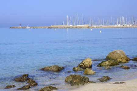 Morning in the Can Pastilla marina, Majorca  photo