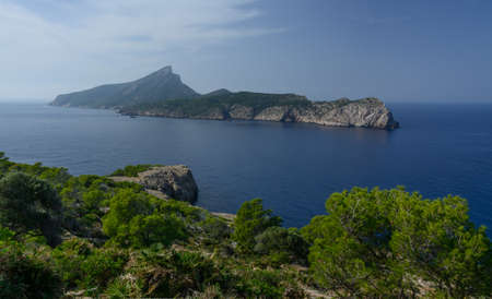 The island Dragonera, one of many natural reserves, Majorca, Spain  Stock Photo - 24401686