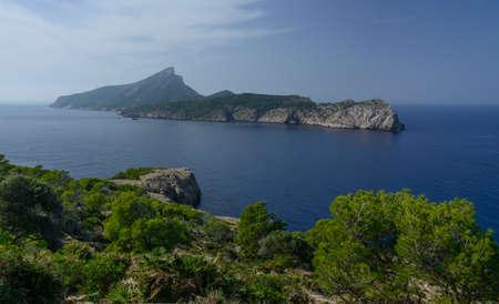 The island Dragonera, one of many natural reserves, Majorca, Spain Stock Photo - 24401686
