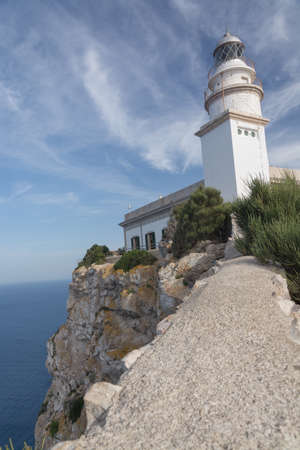 fueled: The lighthouse on the Formentor peninsula stands on the most northern point of the Majorca Island  Height above sea level is 210 m  Building began 1857 and it was lit on April 30 1863 -fueled by olive oil  Paraffin and petrol then, and from 1994 it is dri