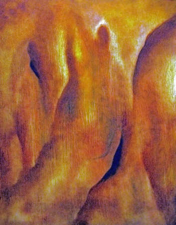 Celebration abstract oil painting symbolic photo