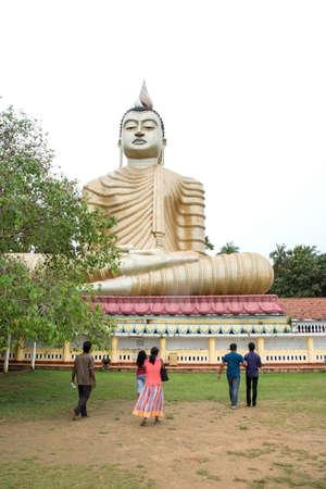 wewurukannala: DICKWELLA, SOUTHERN PROVINCE, SRI LANKA - DECEMBER 20 2014: Sri Lanka