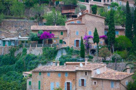 drystone: Deia village, Majorca detail