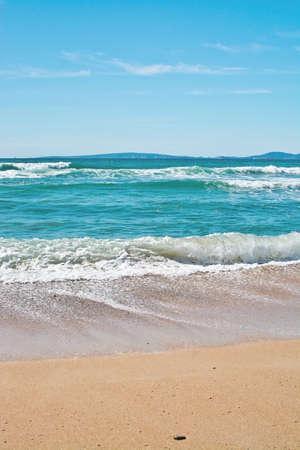 Fresh ocean landscape Mallorca turquoise colors Stock Photo