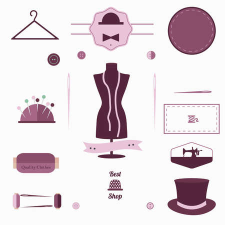 thimble: sewing notions shape tools tailor designer