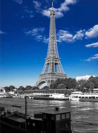 paysage: Eiffel Tower Paris France paysage urbain