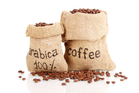 coffee sack: Coffee beans arabia