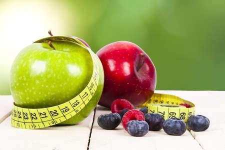 Dieting apple fruit healthy photo