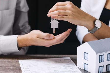 real estate house Standard-Bild