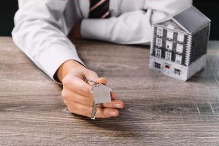 real estate house key Stock Photo - 107744863